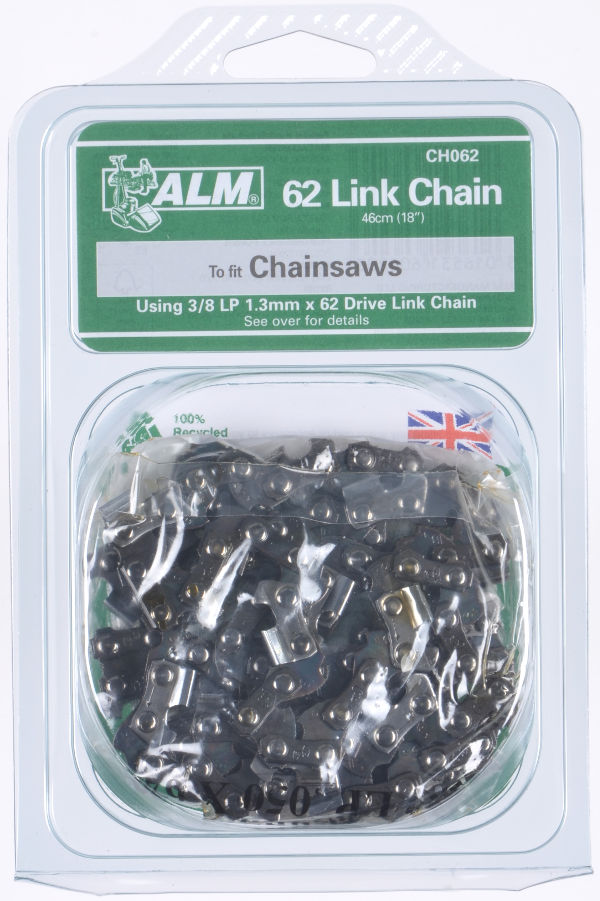 Chainsaw chain - 62 Drive Links for 46cm (18-inch) bar for Ikra