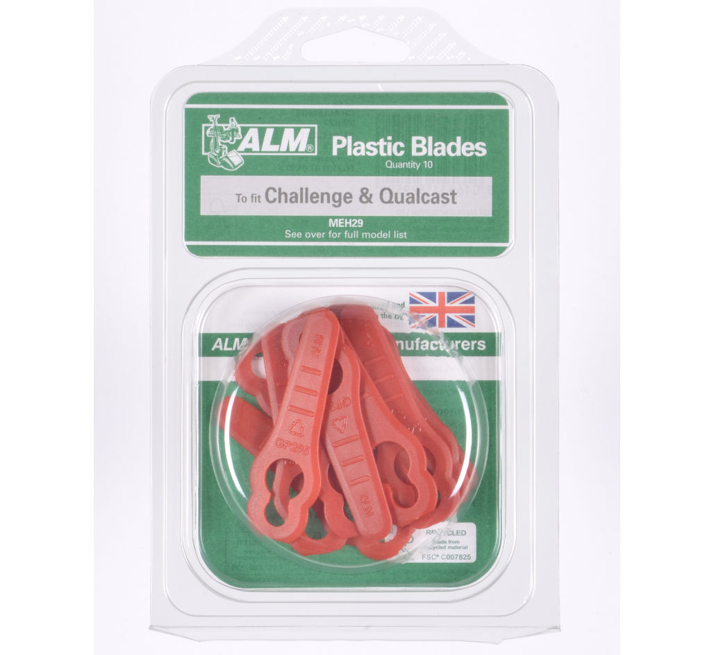Plastic swing blades vool Challenge Xtreme mowers