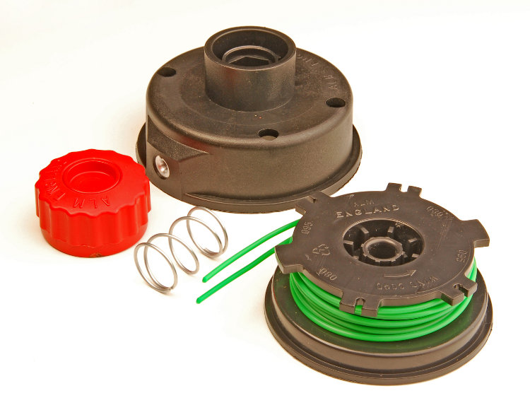 Spool Head Assembly fits Ryobi Trimmers with left hand thread