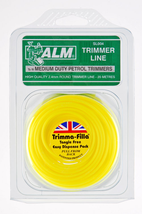 2.4mm x 20m - Yellow Trimmer Line
