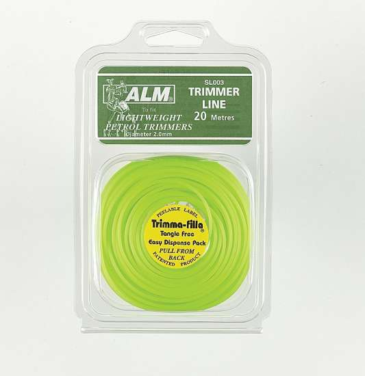 2mm x 20m - Green Trimmer Line
