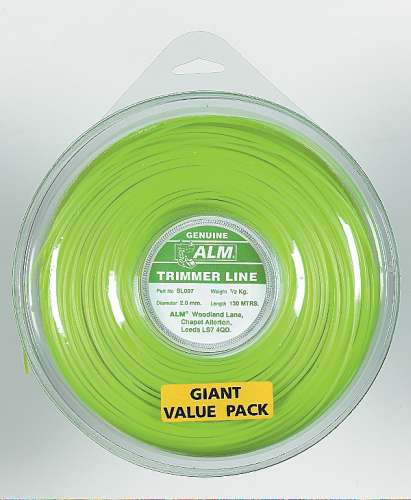 2mm x 122m - Green Trimmer Line - 1/2 kg Pack