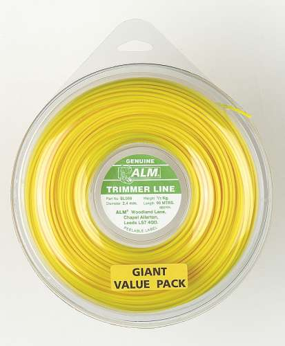 2.4mm x 85m - Yellow Trimmer Line - 1/2 kg Pack