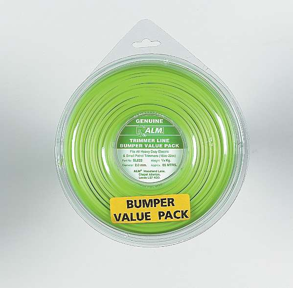 2mm x 61m - Green Trimmer Line - 1/4kg Pack
