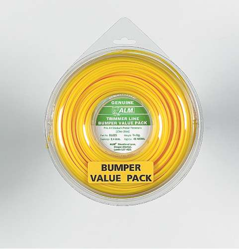2.4mm x 45m - Yellow Trimmer Line - 1/4 kg Pack